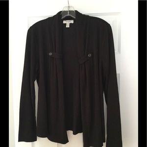 Never worn black Dress Barn cardigan